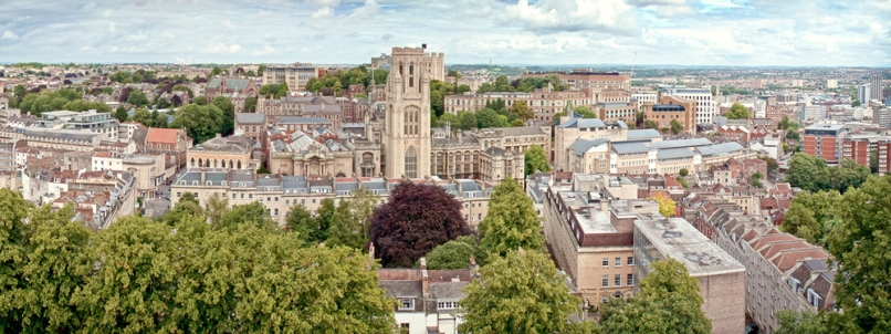 View of the University of Bristol