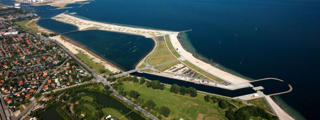 Amager beach - picture from broketourist.net