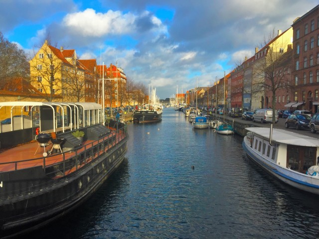 Christiania Canal and its boats