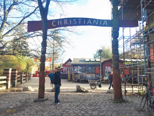 "Christiania. Go, smoke and smile!! Be ""hygge"" - picture taken by Luis Mercader"
