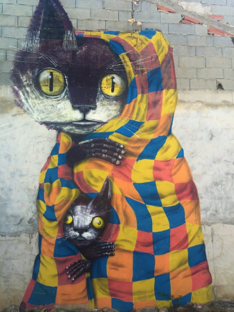 Street art in Fanzara