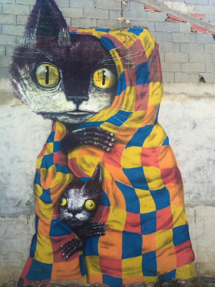 Street art in Fanzara