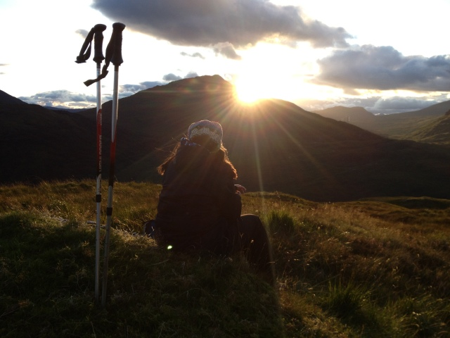 Sunset in the Highlands - Photo taken by Pack Your Bag