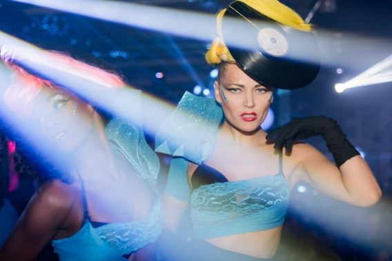 Ibiza Night Scene